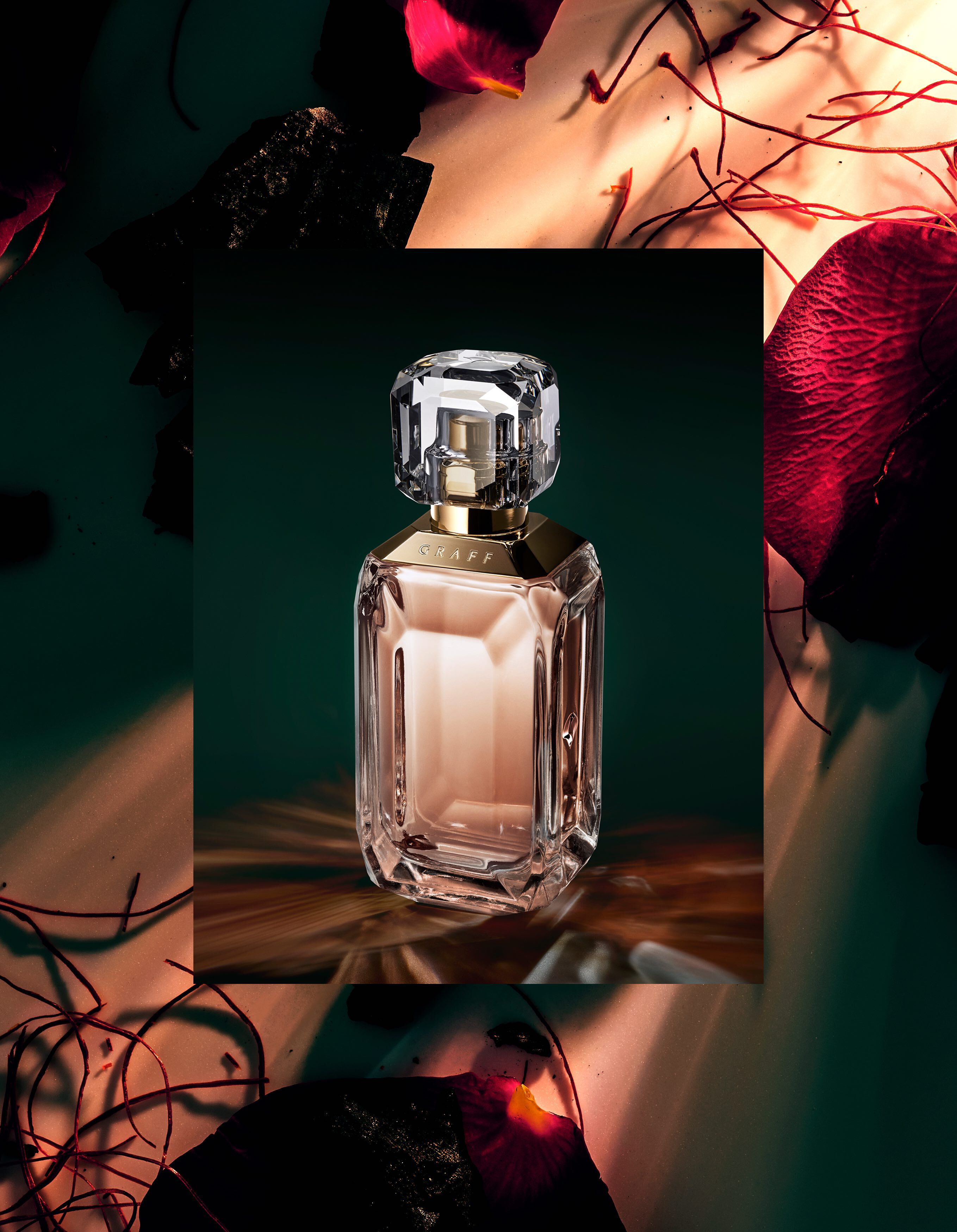 The Lesedi La Rona III fragrance with ingredients by Graff