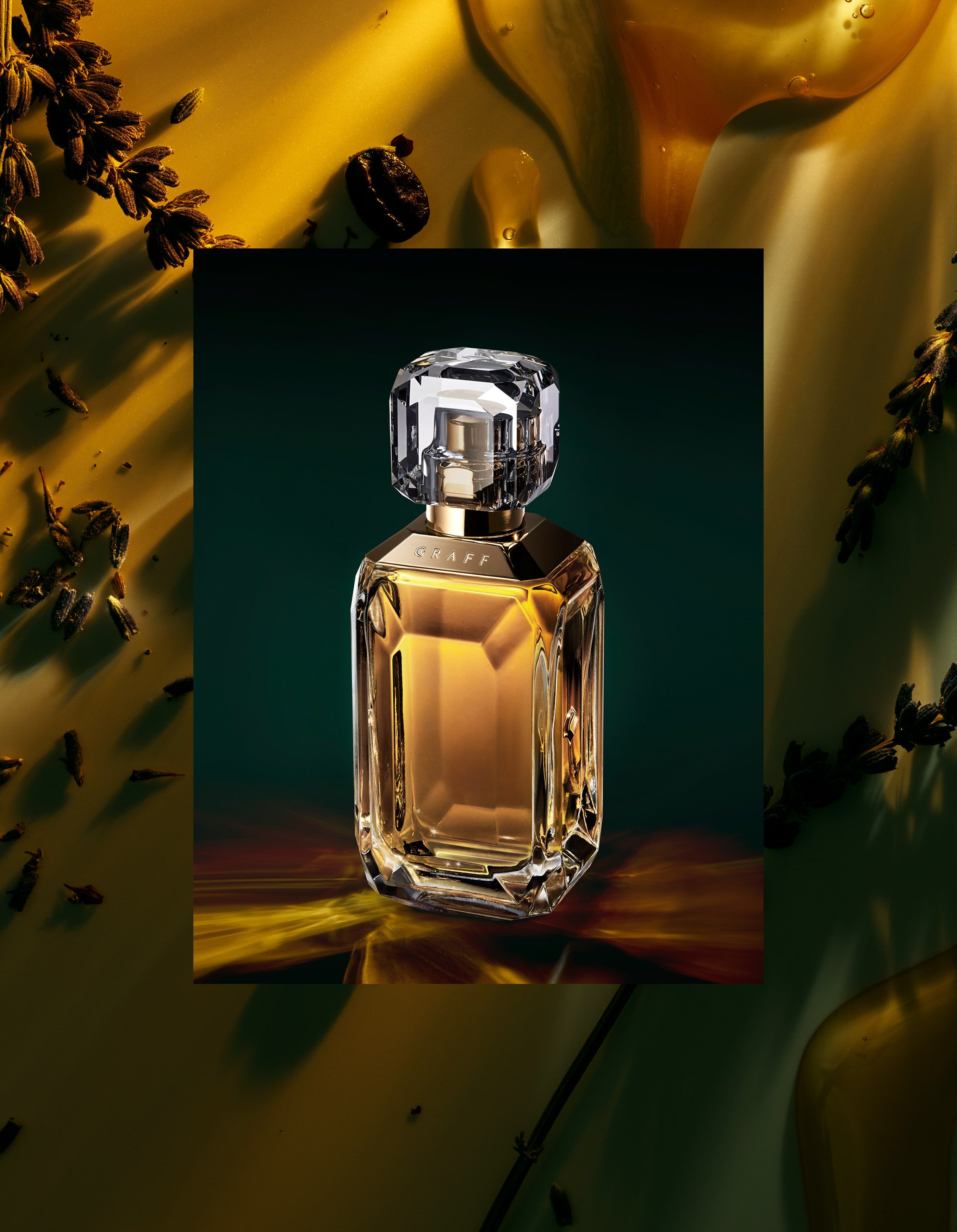 The Lesedi La Rona IV fragrance with ingredients by Graff