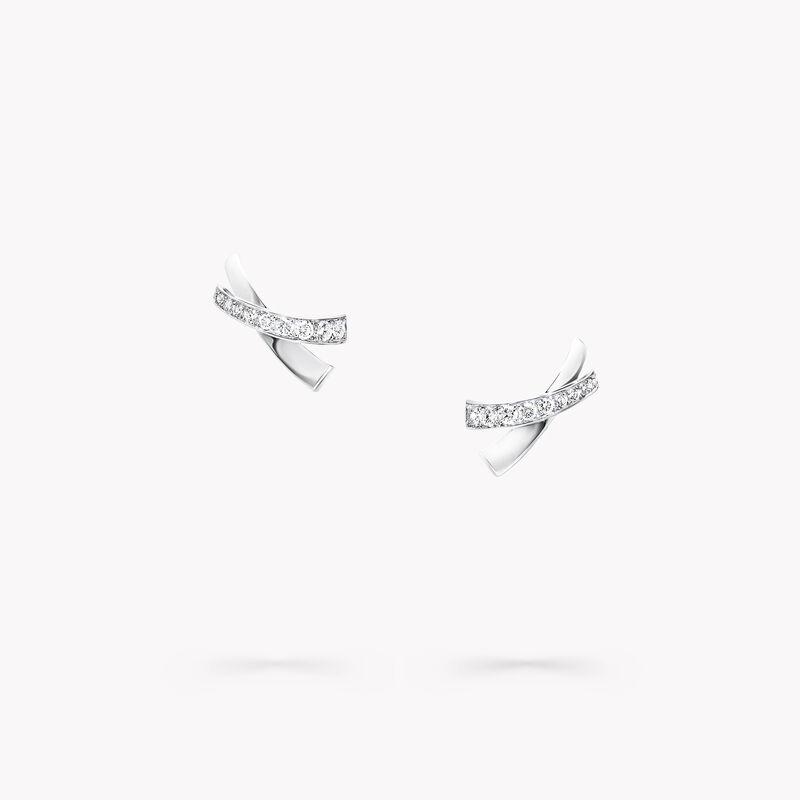 Kiss Diamond Stud Earrings, , hi-res