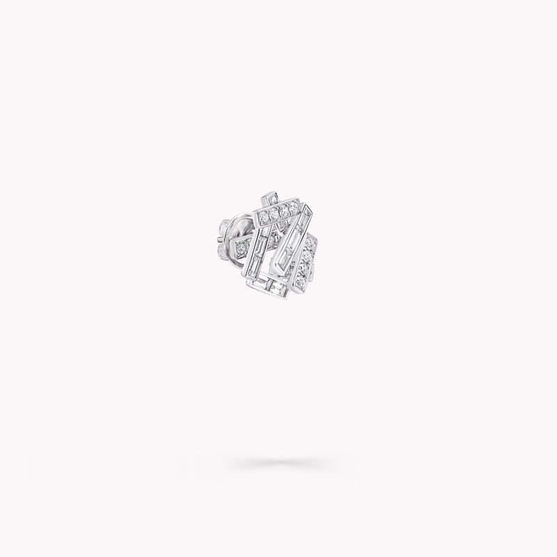 Threads Diamond Stud Earrings, , hi-res