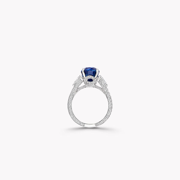 Oval Sapphire Jewellery Ring, , hi-res