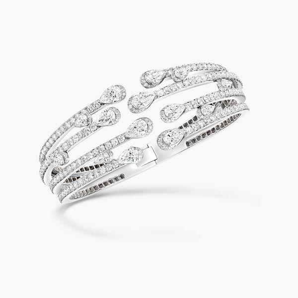 Duet Multi-strand Diamond Bangle, , hi-res