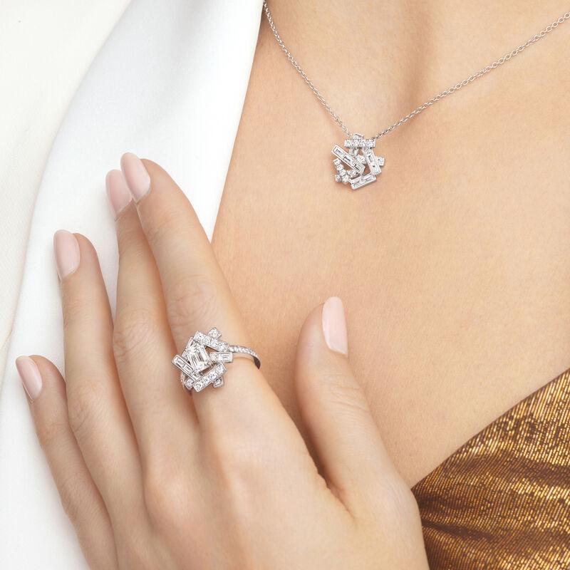 Threads Diamond Ring, , hi-res