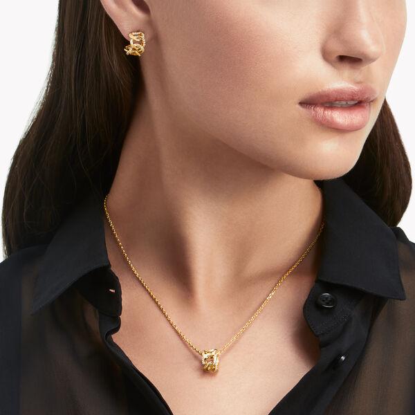 Inspired by Twombly Diamond Hoop Earrings, , hi-res