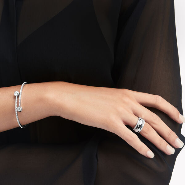 Laurence Graff Signature Wraparound Diamond Bangle, , hi-res