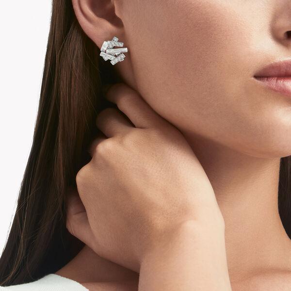Threads Diamond Stud Earrings, , hi-res