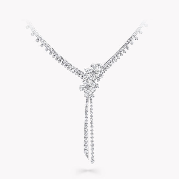 Carissa Diamond Drop Necklace, , hi-res
