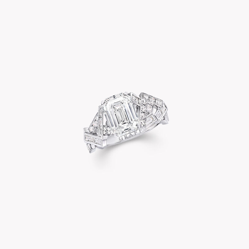 Threads Solitaire Diamond Ring, , hi-res