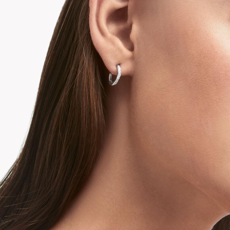 Laurence Graff Signature Pavé Diamond Hoop Earrings, , hi-res