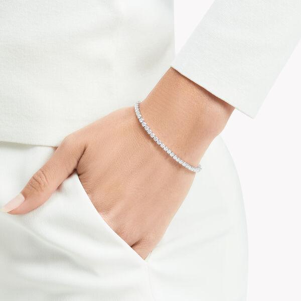 Round Diamond Slim Bracelet, , hi-res