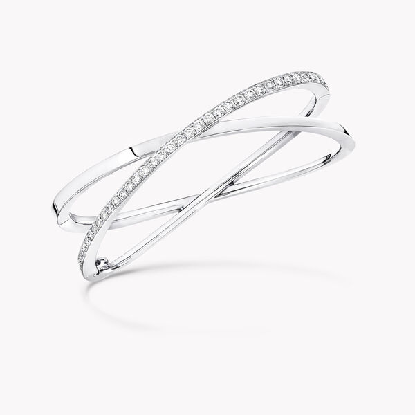 Kiss Diamond Bangle, , hi-res