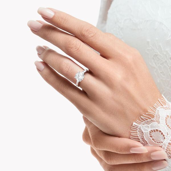 Promise Round Diamond Ring, , hi-res