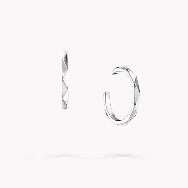 Laurence Graff Signature Hoop Earrings, , hi-res